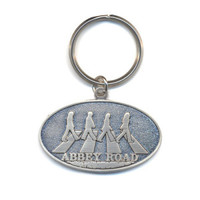 The Beatles Abbey Road Crossing Keychain