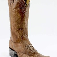 Gameday Texas Tech Ladies Leather Half Time Boots - Orix