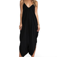 Indah Ivory 2 Low Back Harum Jumpsuit in Black | REVOLVE