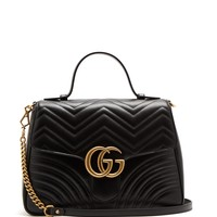 GG Marmont medium quilted-leather shoulder-bag | Gucci | MATCHESFASHION.COM UK