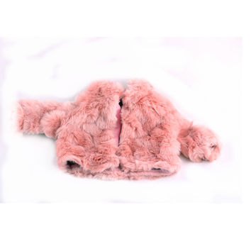Doll Accessories Pink Loose coat Doll Clothes Wear fit 18 inch American Girl Children best Birthday Gift N258