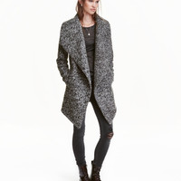 Wool-blend Bouclé Coat - from H&M