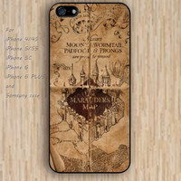 iPhone 5s 6 case Castle Harry Potter map Dream catcher colorful Cartoon okay phone case iphone case,ipod case,samsung galaxy case available plastic rubber case waterproof B450