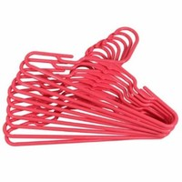 Baby/Toddler Hangers 10-Pack ~ Hot Pink