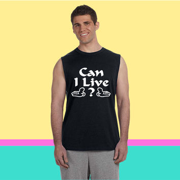 CAN I LIVE  BEYONCE Sleeveless T-shirt
