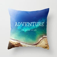 Adventure Throw Pillow by Armine Nersisyan