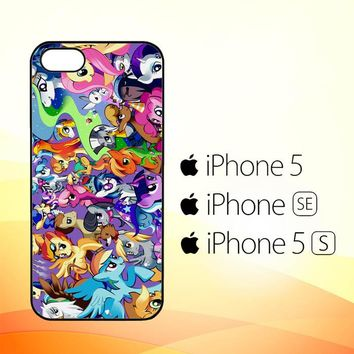 MY LITTLE PONY COLLAGE Z1359  iPhone 5|5S|SE Case