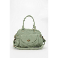 Kimchi Blue Front Pocket Turnlock Satchel - Brown - One Size - Polyvore
