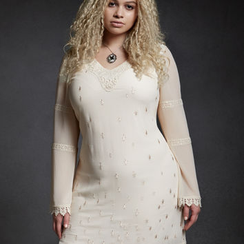 Orphan Black Helena Crochet Shift Dress