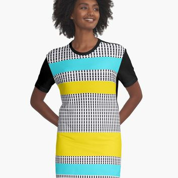 "'""geometric art 526""' Graphic T-Shirt Dress by BillOwenArt"