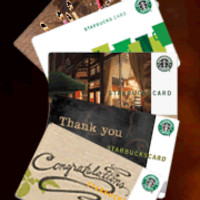 Starbucks Gift Cards at Starbucks Store