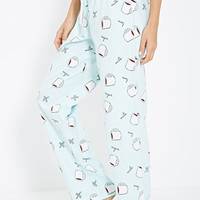 Coffee Mug Flannel PJ Pants