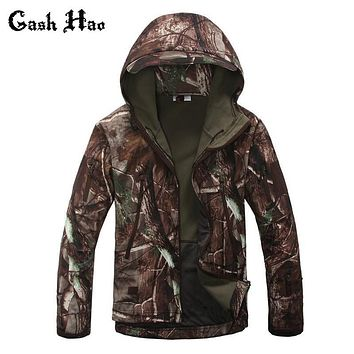 High quality Lurker Shark skin Soft Shell TAD V 4.0 Outdoors Military Tactical Jacket Waterproof Windproof Sportin Army Clothing