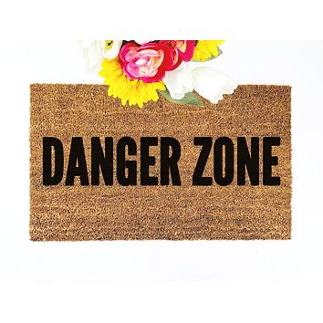 Danger Zone Doormat