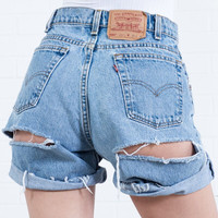 All out Denim Shorts By Sorella