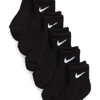 Toddler Boy's Nike 'Performance' Quarter Socks , Size 13-3