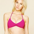 L*Space Womens Solid Bungee Back Top