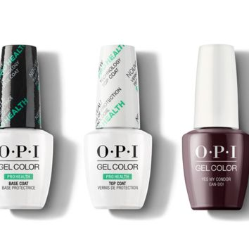 OPI - GelColor Combo - Base, Top & Yes My Condor Can-do!