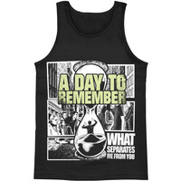 A Day To Remember Men's  What Separates Me From You Mens Tank Black
