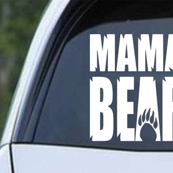 Mama Bear Die Cut Vinyl Decal Sticker