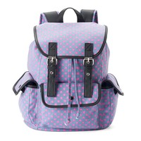 Candie's Anna Dotted Backpack (Purple)