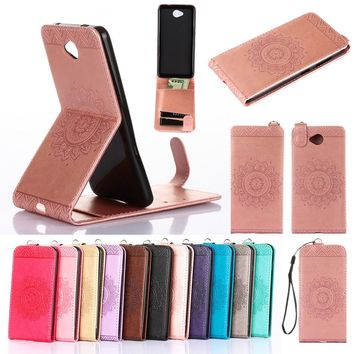 Biencaso Stand Vertical Folio Flip PU Leather Phone Fundas Case For Microsoft Nokia Lumia N 535 550 630 640 650 Holder Cover B95