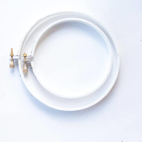 Wooden Embroidery Hoop - White