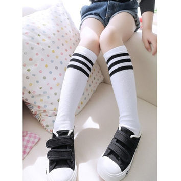 10pairs/lot Fashion Children High Knee Socks Girl Winter Warm  Baby Hose Leg Warmer 1-8 Years = 1715214276