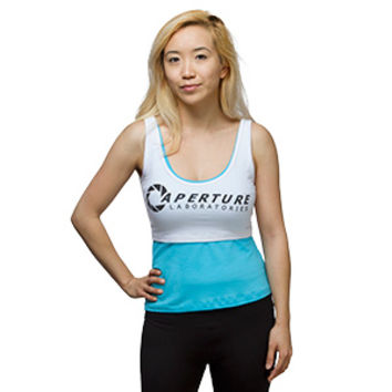 Portal Chell's Double Layer Tank