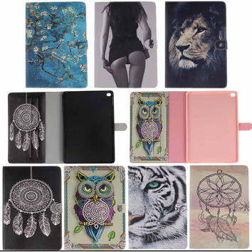 For Apple iPad Air 2 case Book style PU Leather Protective Skin for iPad 6 Cover With Card Holder Tablet Accessories Y4D33D
