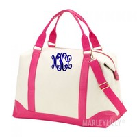 Personalized Weekend Travel Bag | Marleylilly