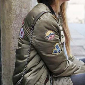 The Patches Bomber Jacket