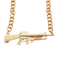 AK47 Gun Necklace