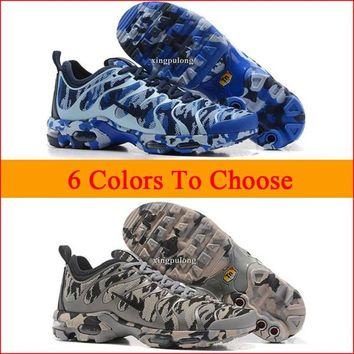 New Fashion Mens Womens Camouflage Air Plus Tn Ultra Running Shoes Men Women Athletic Trainers Sneakers Man Woman Casual Sports Tennis Shoes