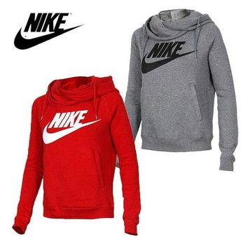 DCCKB62 NIKE' Fashion Hooded Top Pullover Sweatshirt Sweater Hoodie For Women
