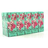 Arizona - Box Drinks -  Green Tea with Ginsing and Honey - 10 Pack