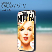 marilyn monroe - Samsung Galaxy S4 Case
