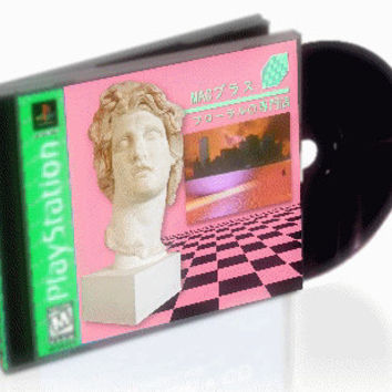 "MACINTOSH + - フローラルの専門店 (Floral Shope) PSX styled black bottom CD ""Greatest hits"" Album"