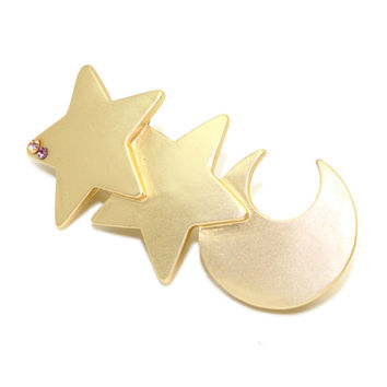 Korean Gemstone Hair Clip Hair Accessories Headwear Accessory [6056790273]