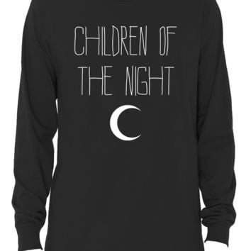 """Children of the Night"" Long Sleeve T-Shirt"