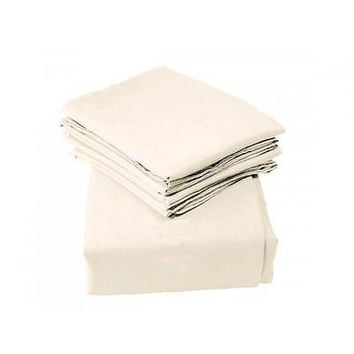 Regal Comfort Bamboo Luxury 2100 Series Hotel Quality Sheet Full Cream