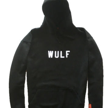ikon / Xavier Wulf Cut And Sew Sweatshirt (black)