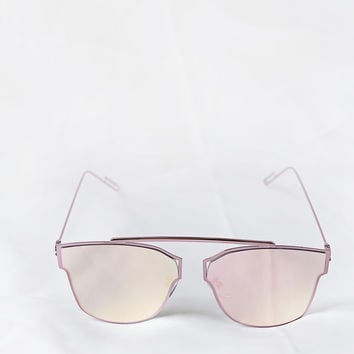 Lux Pink Sunglasses