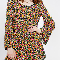 Urban Renewal Blossom Bell-Sleeve Dress
