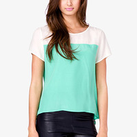 Essential Colorblocked Top