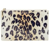 Kate Spade New York Leopard Cosmetic Pouch