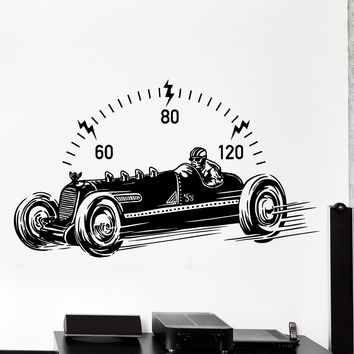 best race car decor products on wanelo. Black Bedroom Furniture Sets. Home Design Ideas