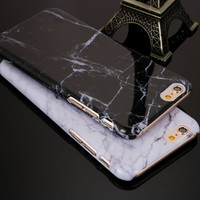 HQ Marble Style Phone Case For iPhone 7 7Plus 6 6s Plus 5 5s SE