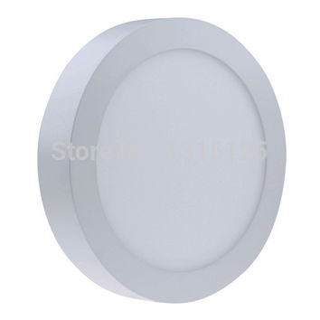 Non-dimmable 6W 12W 18W 24W Super Bright Round Surface LED Panel Wall Ceiling Down Light Mount Bulb Lamp for bathroom illuminate