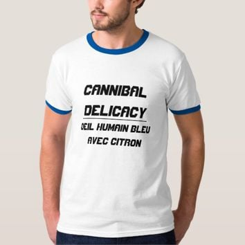 Cannibal Delicacy smoked eyes T-Shirt